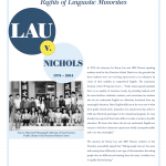 UTLA Bilingual Education Committee PSA: LAU V. NICHOLS
