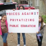 Join Voices Against Privatizing Public Education's efforts to repeal the California charter school law