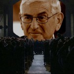 Protest against Eli Broad's charter putsch by Voices Against Privatizing Public Education
